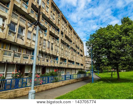 Robin Hood Gardens London (hdr)