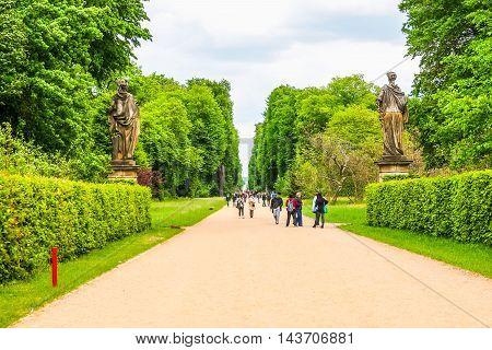 Park Sanssouci Potsdam (hdr)