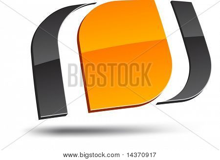 Abstract design element. Vector illustration.
