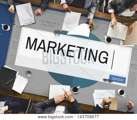 Marketing Analytics Strategy Solution Business Concept