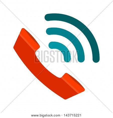 Phone, call, communicate icon vector image. Can also be used for customer services. Suitable for use on web apps, mobile apps and print media.