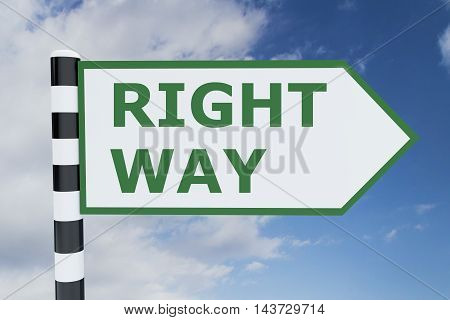 Right Way Concept