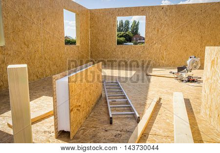 Building Wooden Houses