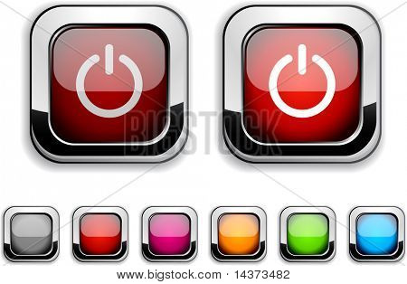 Switch realistic icons. Empty buttons included.
