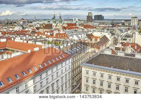 Vienna Panoramic Picture, Austria.