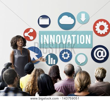 Innovation Invention Futurism Development Concept
