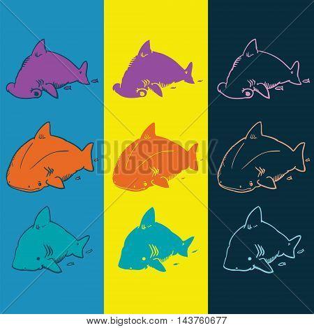 Cute Fubsy Sharks 1