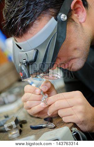 Experienced jeweller
