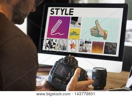 Camera Innovation Simplicity Career Concept
