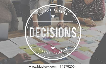 Decision Opportunity Choice Selection Pick Concept