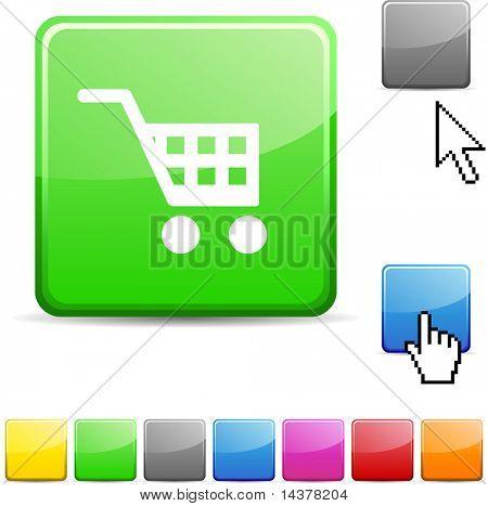 Buy glossy vibrant web icon.
