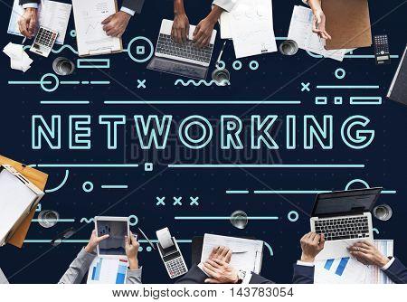 Technology Digital Connection Innovation Internet Concept