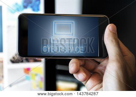 Webpage Website Media Computer Icon Concept
