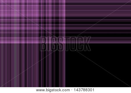 Illustration of purple and black smudged squares
