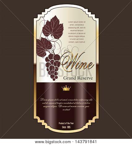 Wine Label.eps