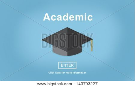 Academic College Education Learning Study Concept