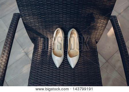 A Pair Of Shoes For The Bride