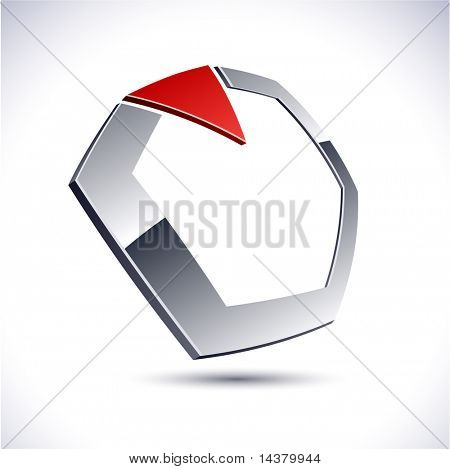 diamond 3d vector icon such logos.