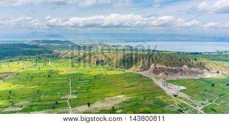 Aerial View Of Hawassa
