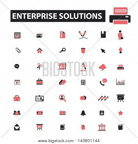 enerprise solutions icons