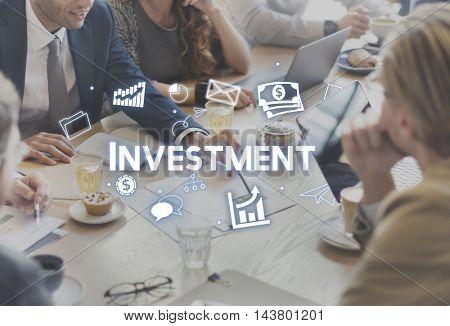 Investment Business Economy FInancial Revenue Concept