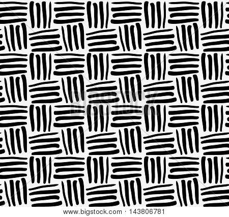 Black Marker Drawn Stripes