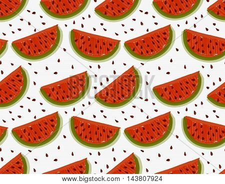 Marker Drawn Watermelons With Seeds