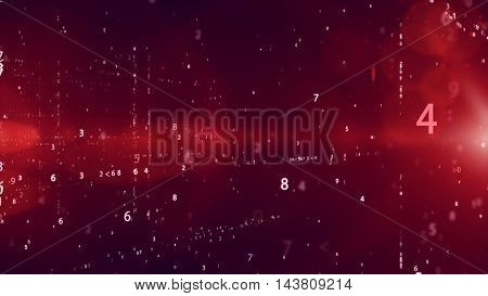 Binary System Code Background