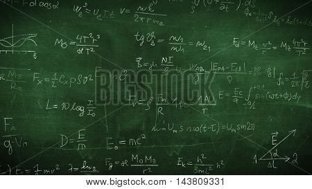 Physical Formulas And Drawings