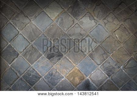 Close up pattern of stone wall surface