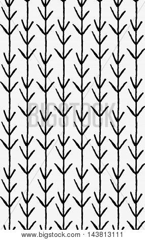 Black Marker Vertical Arrows