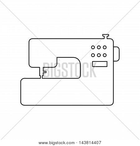 Sewing machine icon of vector illustration for web and mobile design