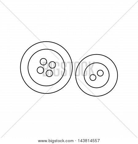 Buttons icon of vector illustration for web and mobile design