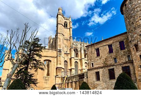 The Cathedral Of Saint-just And Saint-pasteur, Narbonne. France