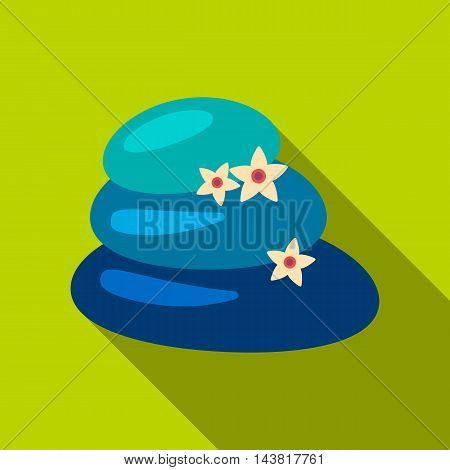 Spa stone icon of vector illustration for web and mobile design