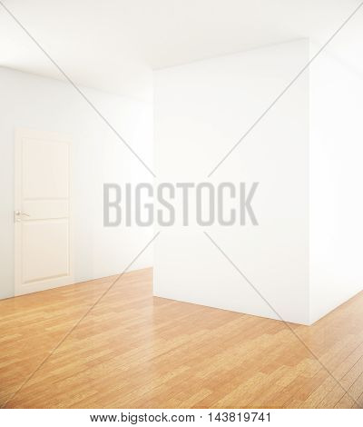 Blank Wall In Interior
