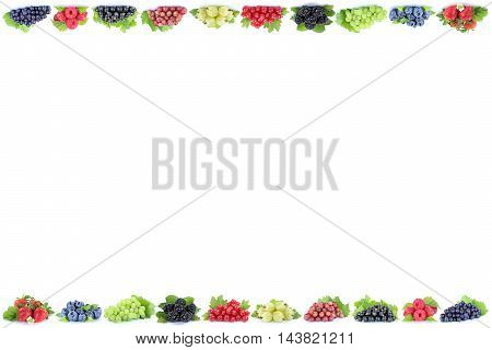 Berries Strawberries Grapes Blueberries Berry Fruits Fruit Copyspace Copy Space