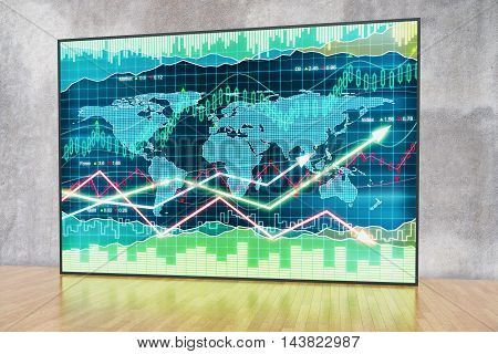 Forex Chart In Interior