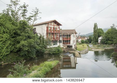 The village of Saint Jean Pied de Port