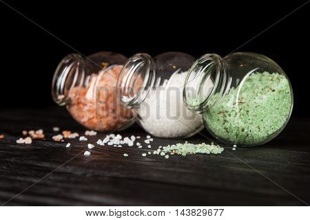Assortment of salts