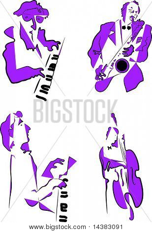 Live Jazz & Blues  5 color options included