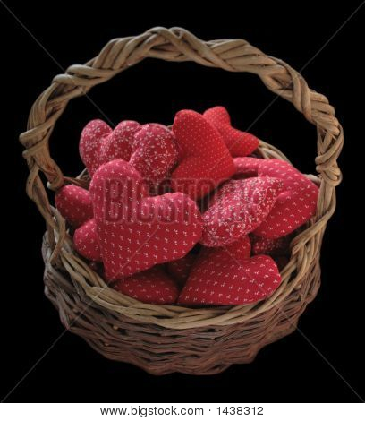 Basket Full Of Hearts