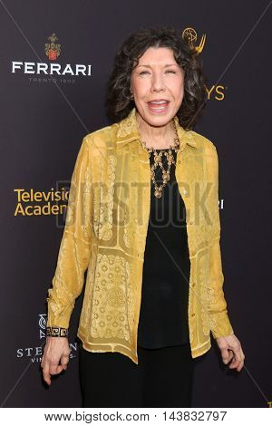LOS ANGELES - AUG 22:  Lily Tomlin at the Television Academy's Performers Peer Group Celebration at the Montage Hotel on August 22, 2016 in Beverly Hills, CA