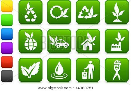 Original vector illustration: greener environment icon collection