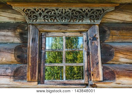 Window Frames Old Russian House