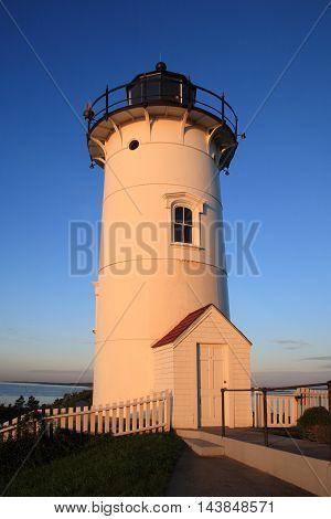 Nobska Point Light Woods Hole Cape Cod Massachusetts