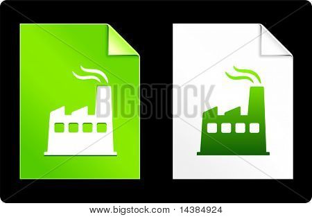 Factory on Paper Set Original Vector Illustration AI 8 Compatible File