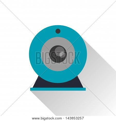 webcam gadget cam technology icon. Colorful and flat design. Vector illustration