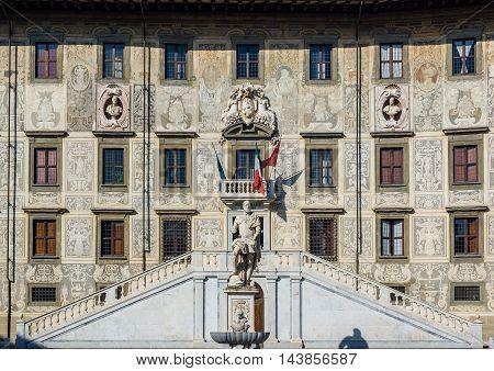 Palazzo Della Carovana Of Pisa, Italy