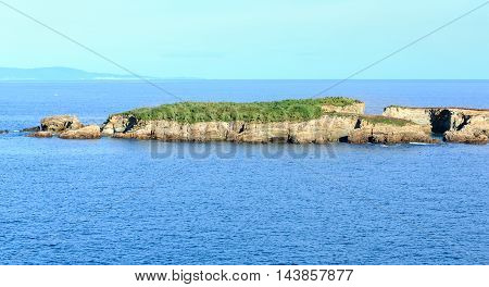 Atlantic Ocean Coastline Landscape (spain).